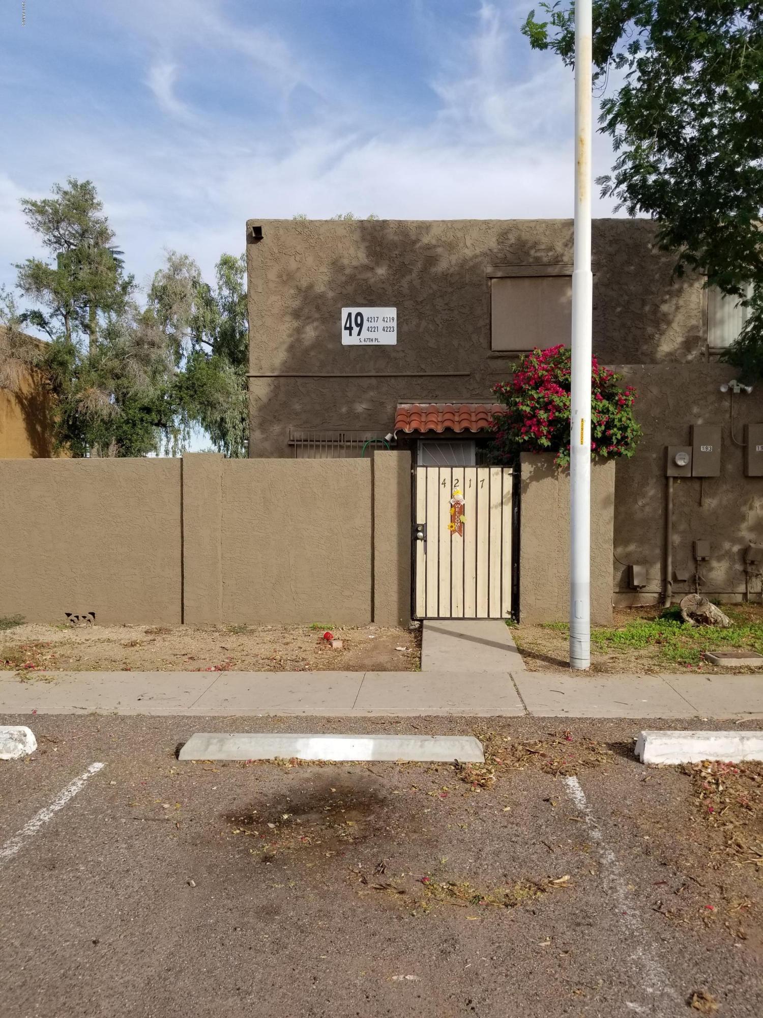 Photo of 4217 S 47TH Place, Phoenix, AZ 85040