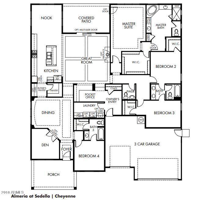 MLS 5844489 4679 N 185TH Lane, Goodyear, AZ 85395 Goodyear AZ Newly Built