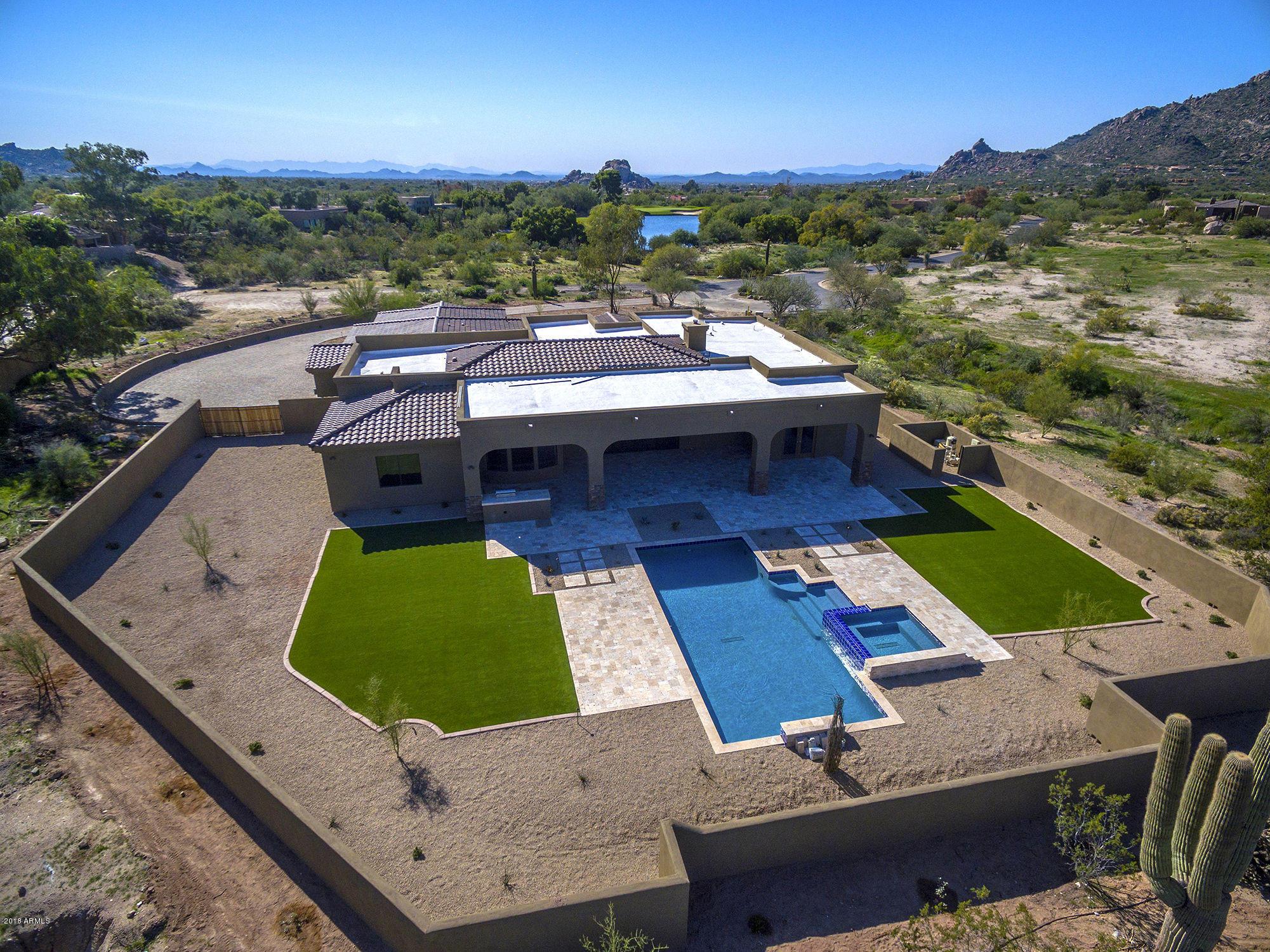 MLS 5845733 4012 La Ultima Piedra --, Carefree, AZ Carefree AZ Newly Built
