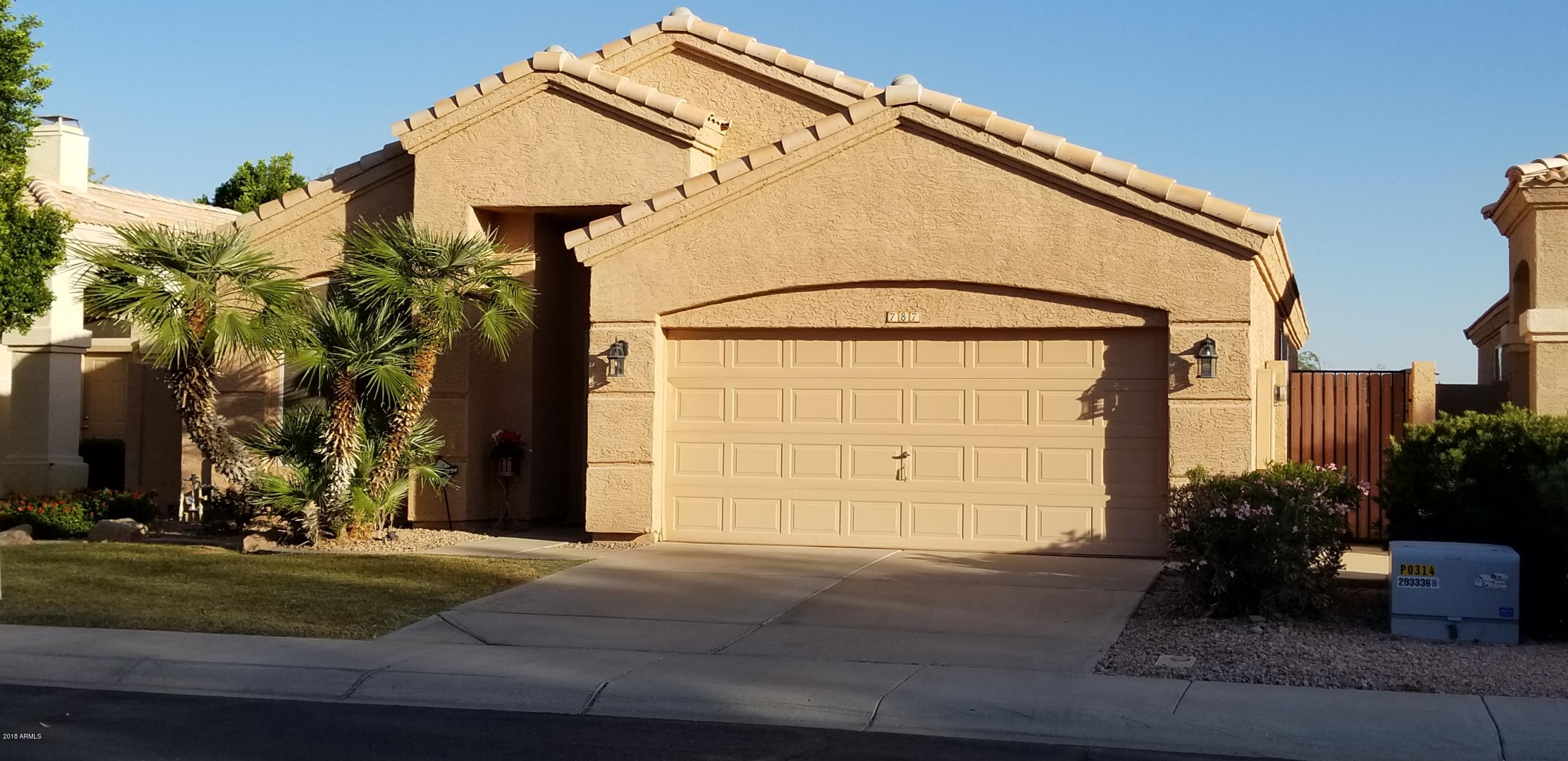 MLS 5845375 787 N Gregory Place, Chandler, AZ 85226 Chandler AZ Warner Ranch