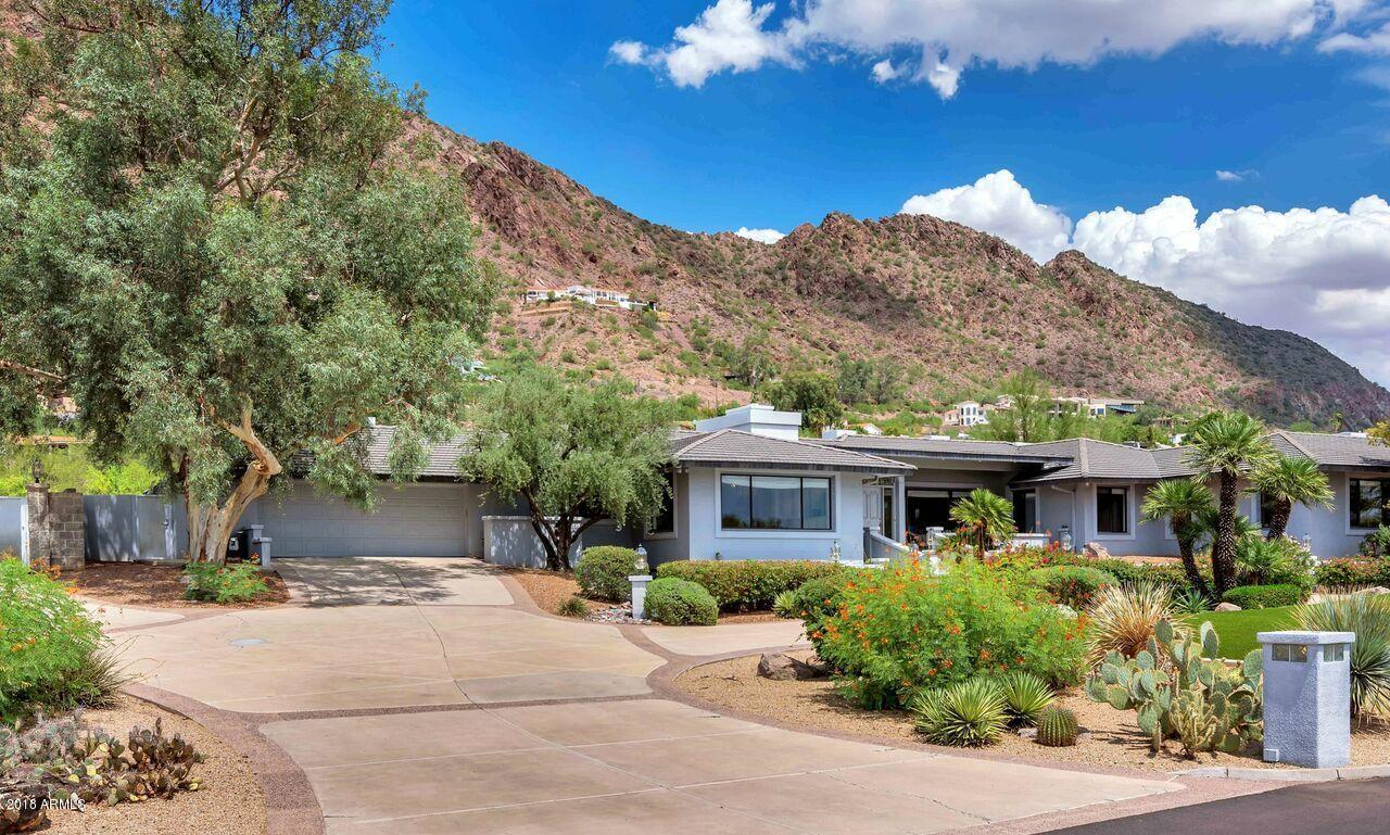 MLS 5846377 5360 E ROCKRIDGE Road, Phoenix, AZ 85018 Homes w/Views in Phoenix