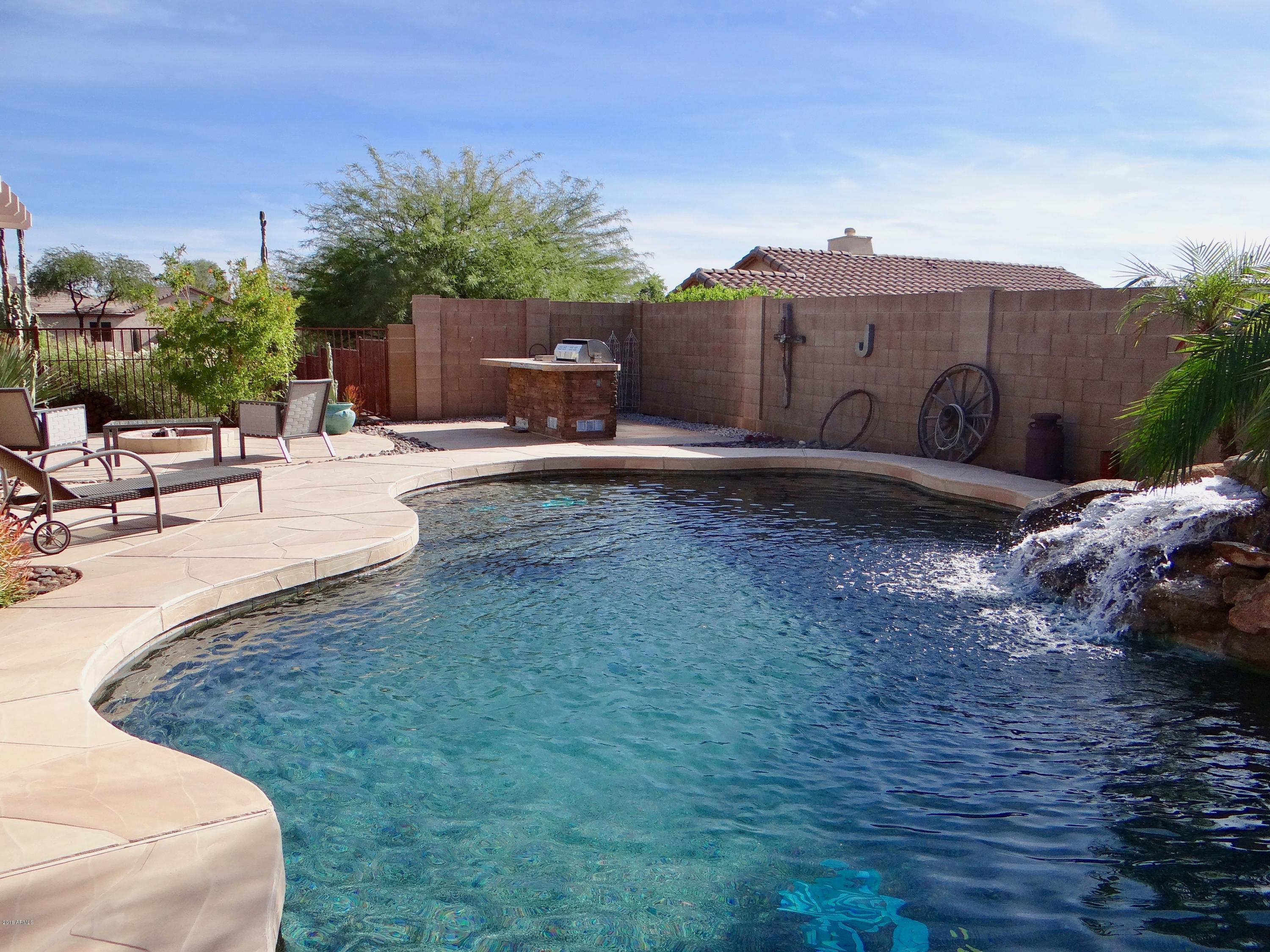 MLS 5849923 10643 E Bluebird Mine Court, Gold Canyon, AZ Gold Canyon AZ Private Pool