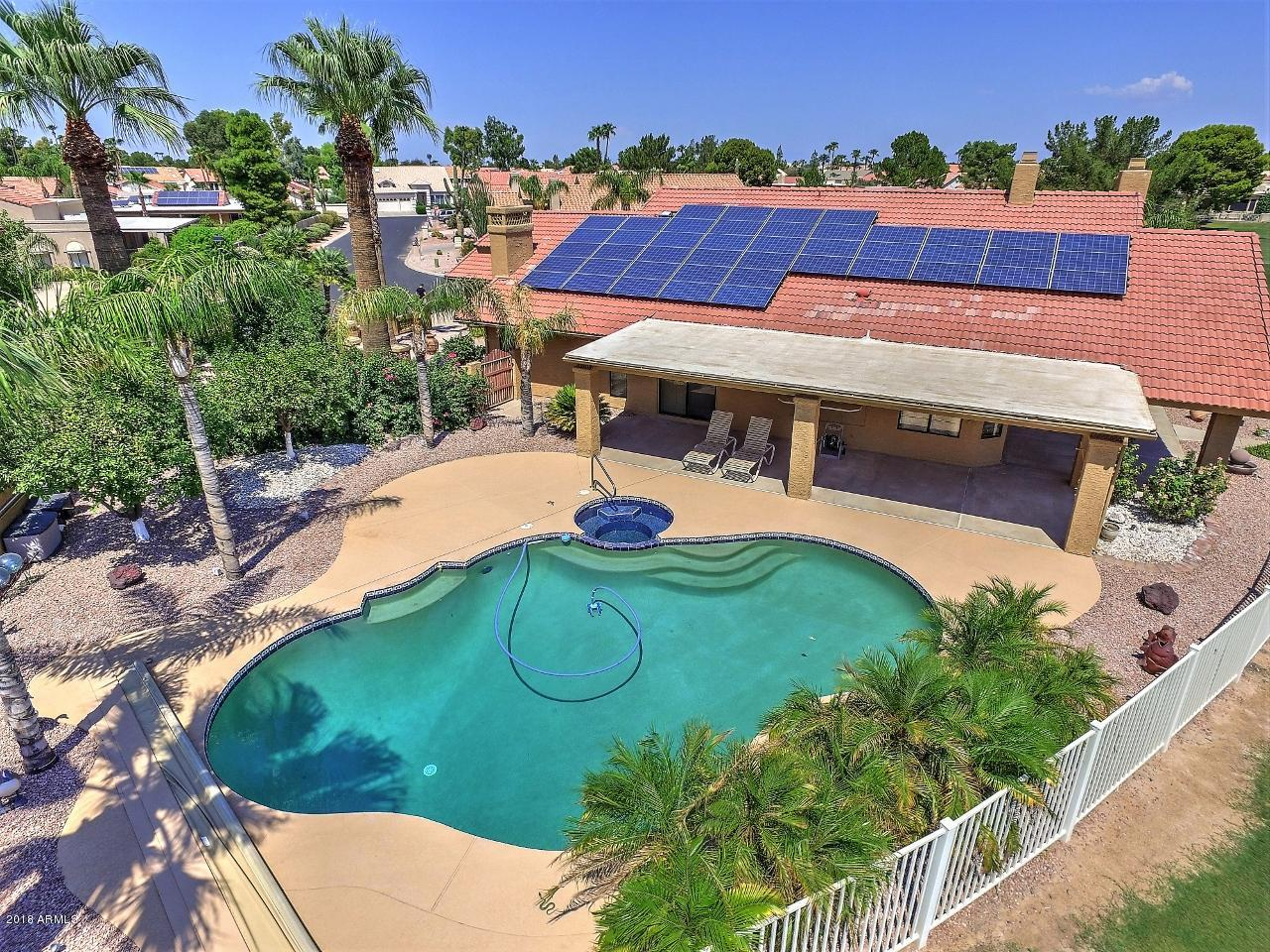 MLS 5846333 10941 E BELLFLOWER Drive, Sun Lakes, AZ 85248 Sun Lakes AZ Community Pool