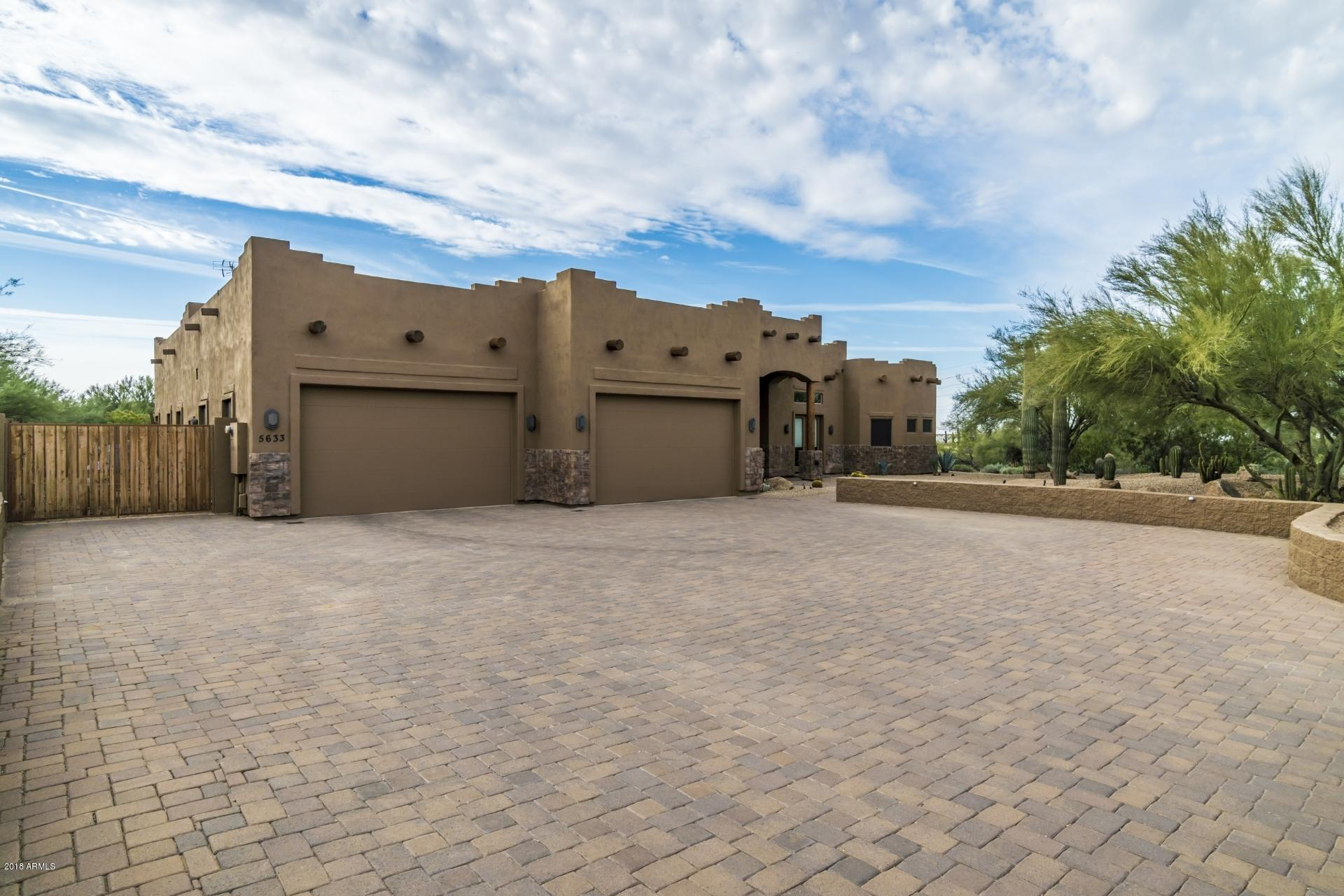 MLS 5850630 5633 E PERDIDO Drive, Cave Creek, AZ 85331 Cave Creek AZ Gated
