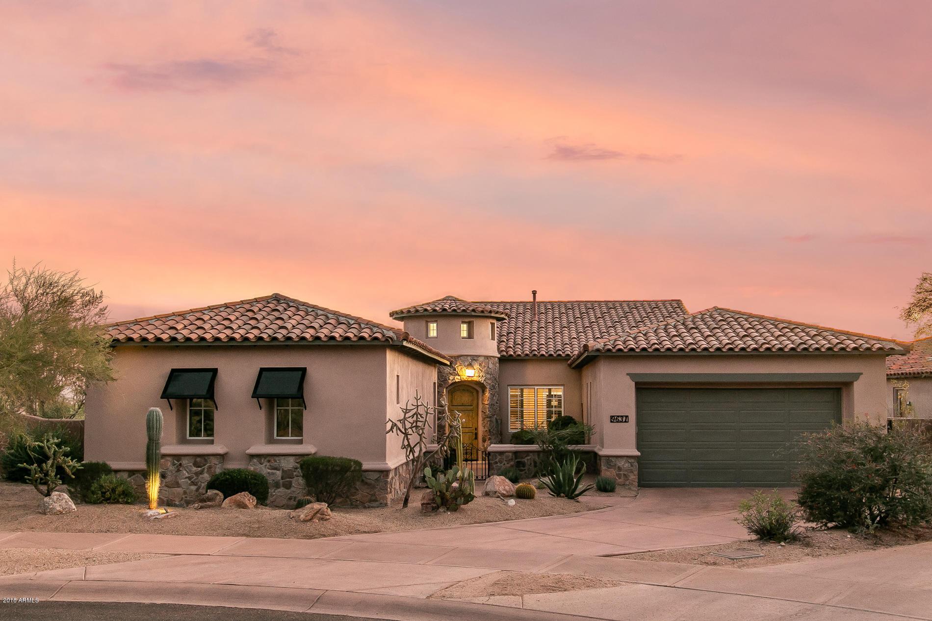 Photo of 9631 E MOUNTAIN SPRING Road, Scottsdale, AZ 85255