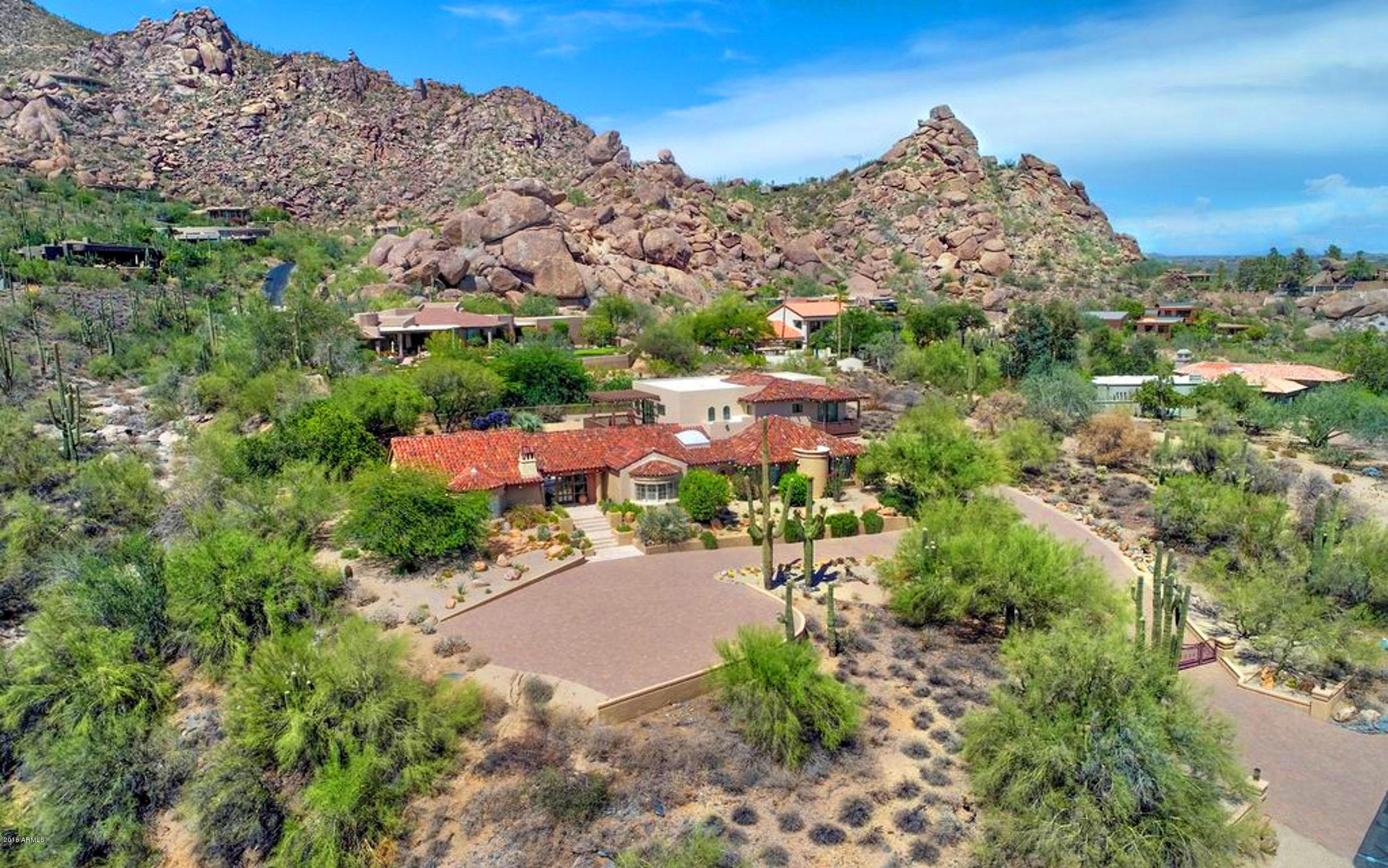 Photo of 6616 E EL SENDERO Road, Carefree, AZ 85377