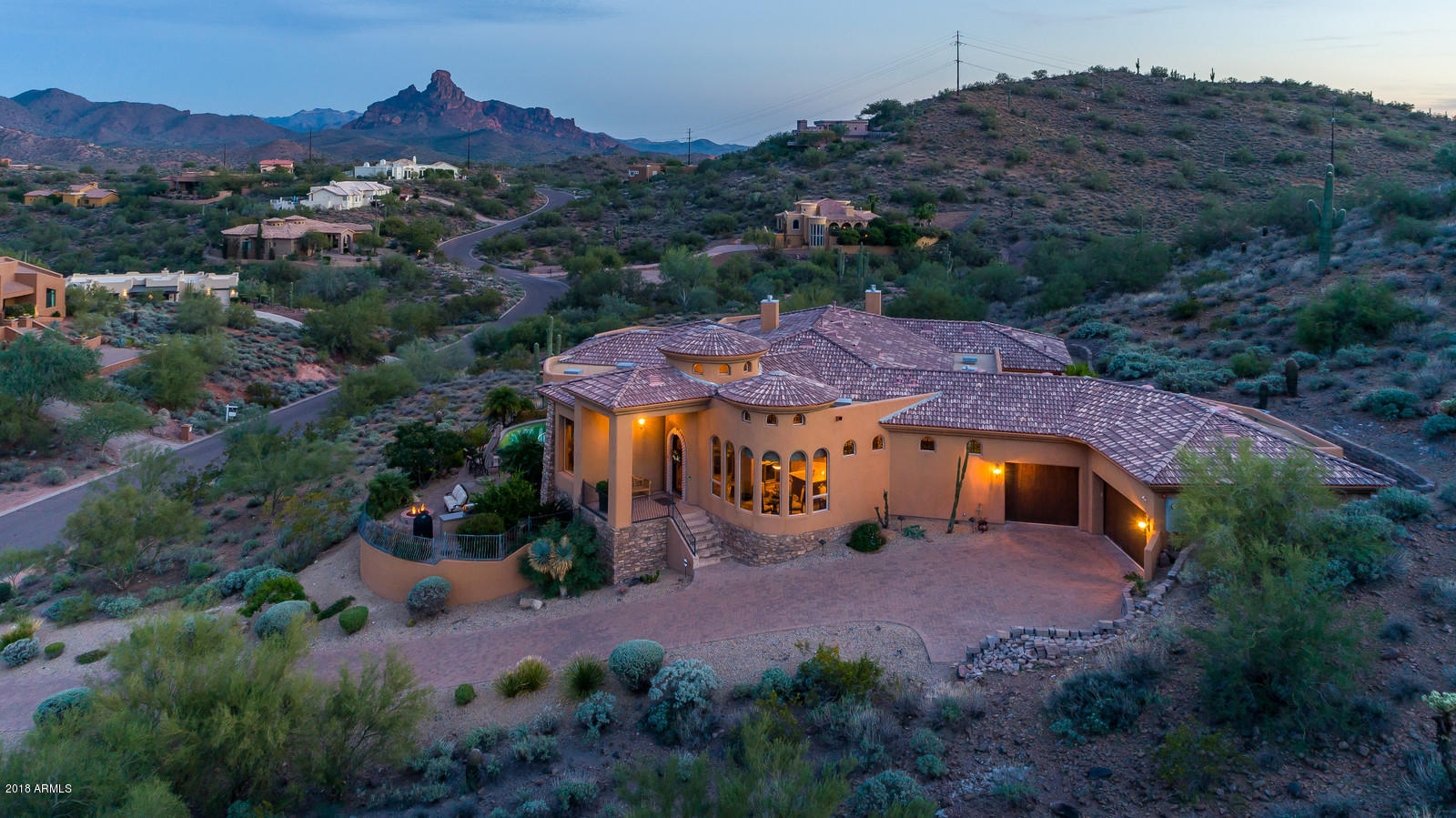 Photo of 9236 N POWDERHORN Drive, Fountain Hills, AZ 85268