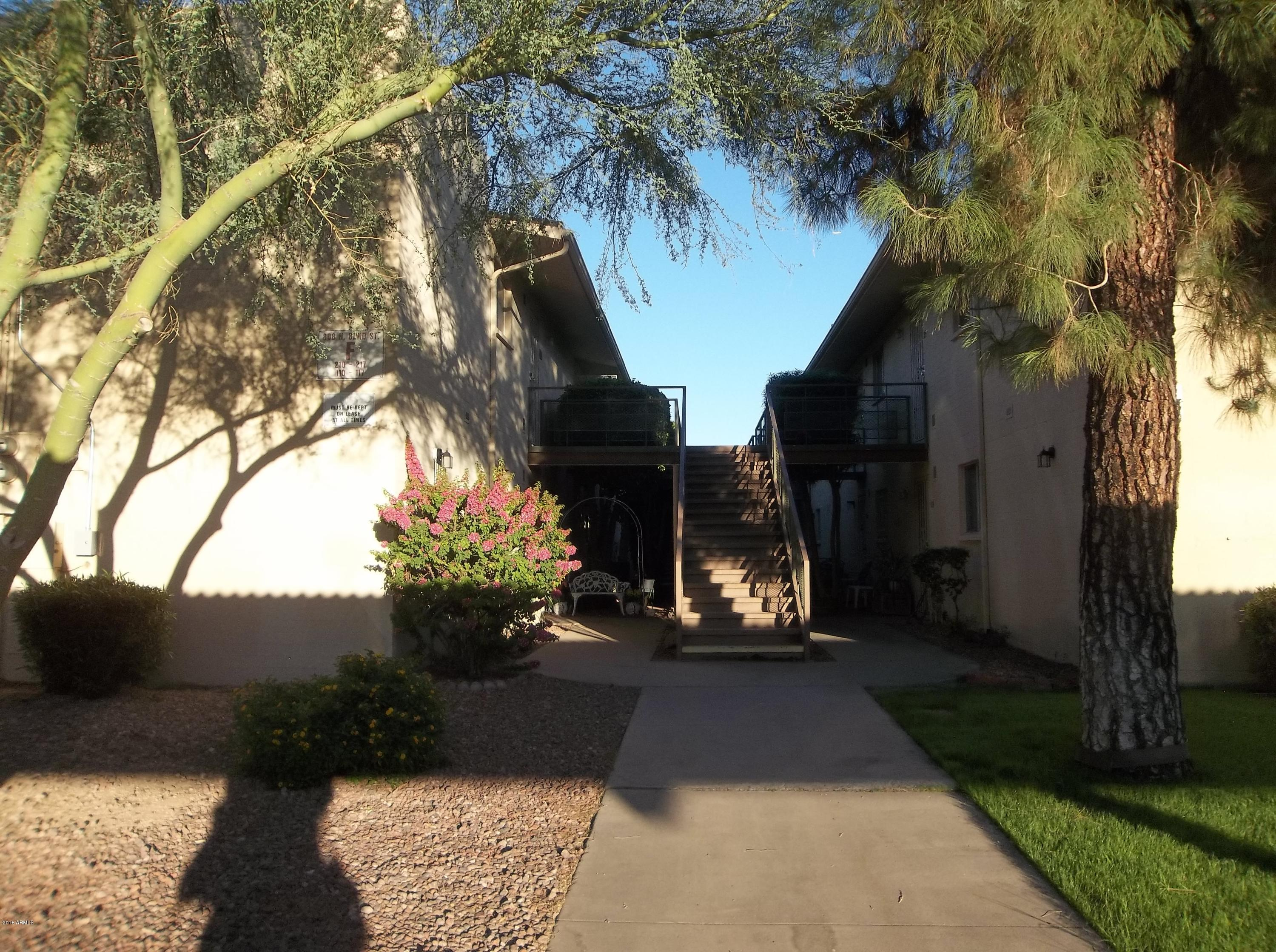 MLS 5853477 808 N 82ND Street Unit F204 Building F204, Scottsdale, AZ Scottsdale AZ Affordable
