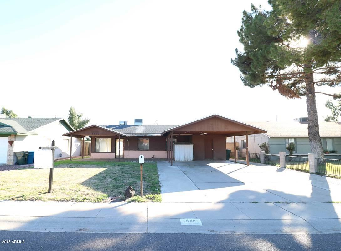 Photo of 4411 W MERCER Lane, Glendale, AZ 85304