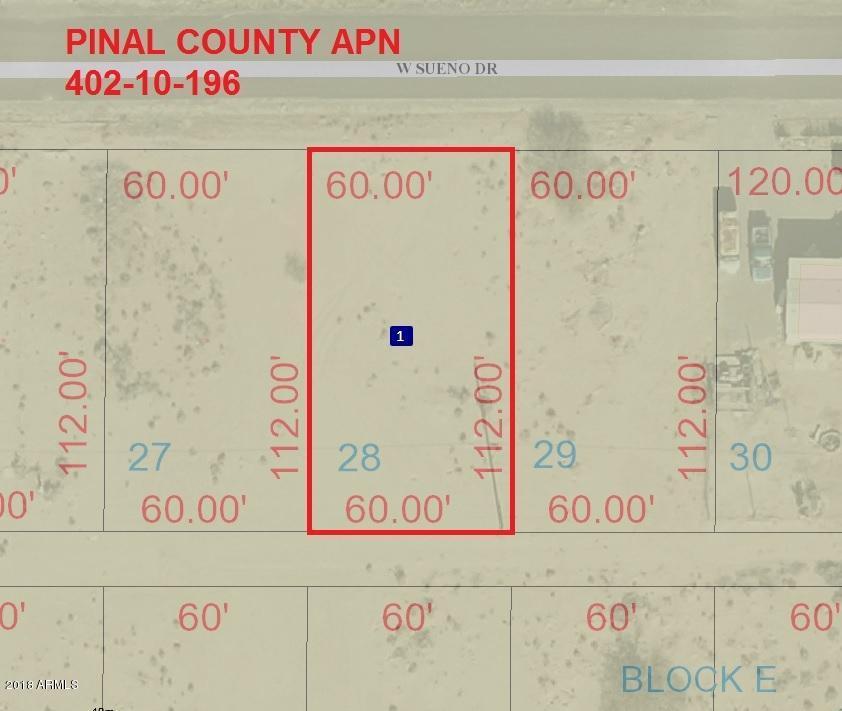 3385 W SUENO Drive Eloy, AZ 85131 - MLS #: 5854017