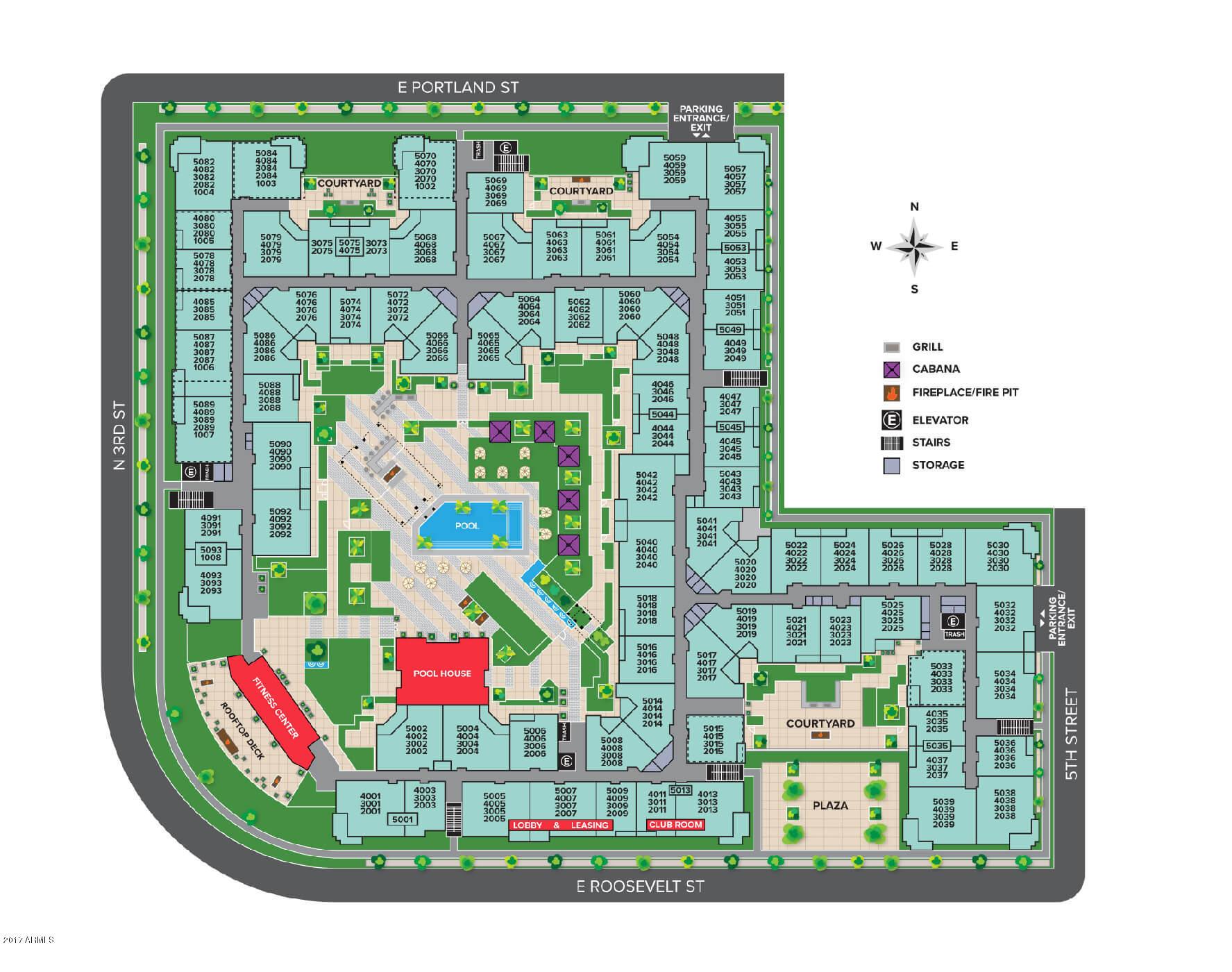 330 E Roosevelt Street Unit 5093 Phoenix, AZ 85004 - MLS #: 5854188