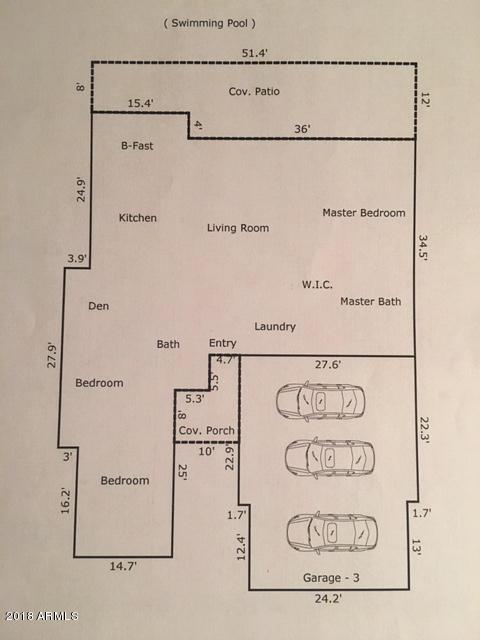 MLS 5855544 171 S ROADRUNNER Road, Apache Junction, AZ 85119 Apache Junction AZ Three Bedroom