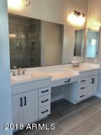 Master bath with vanity space