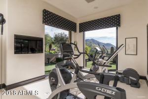 Master Retreat Fitness Room