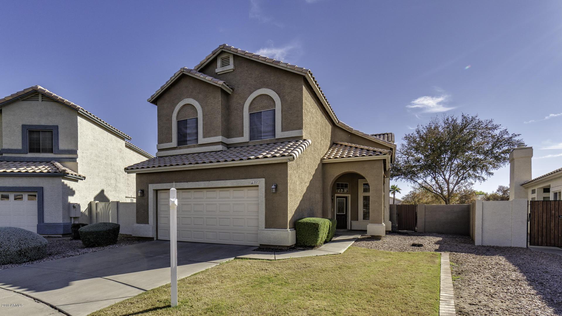 MLS 5860789 251 W AMOROSO Drive, Gilbert, AZ Gilbert AZ Lago Estancia