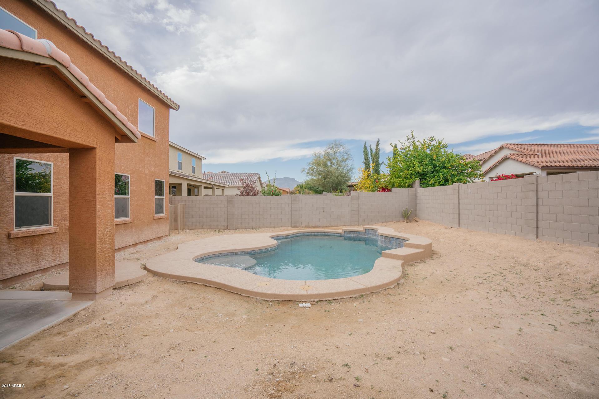 MLS 5860293 18206 W HATCHER Road, Waddell, AZ Waddell AZ Private Pool