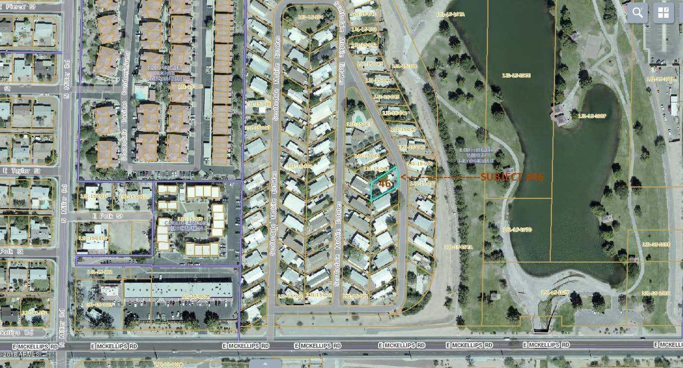 MLS 5861106 7660 E MCKELLIPS Road Unit 46, Scottsdale, AZ 85257 Scottsdale AZ Bank Owned