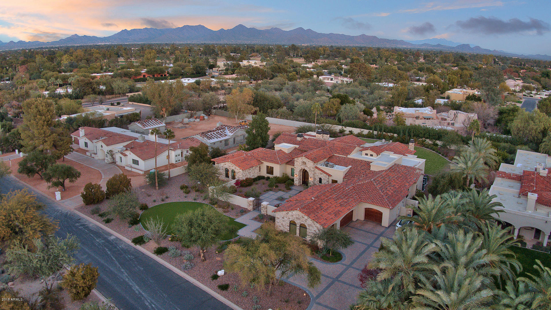 MLS 5861363 7807 N CALLE CABALLEROS Street, Paradise Valley, AZ Paradise Valley Horse Property for Sale
