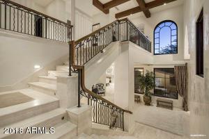 Stairway to Guest Bedrooms