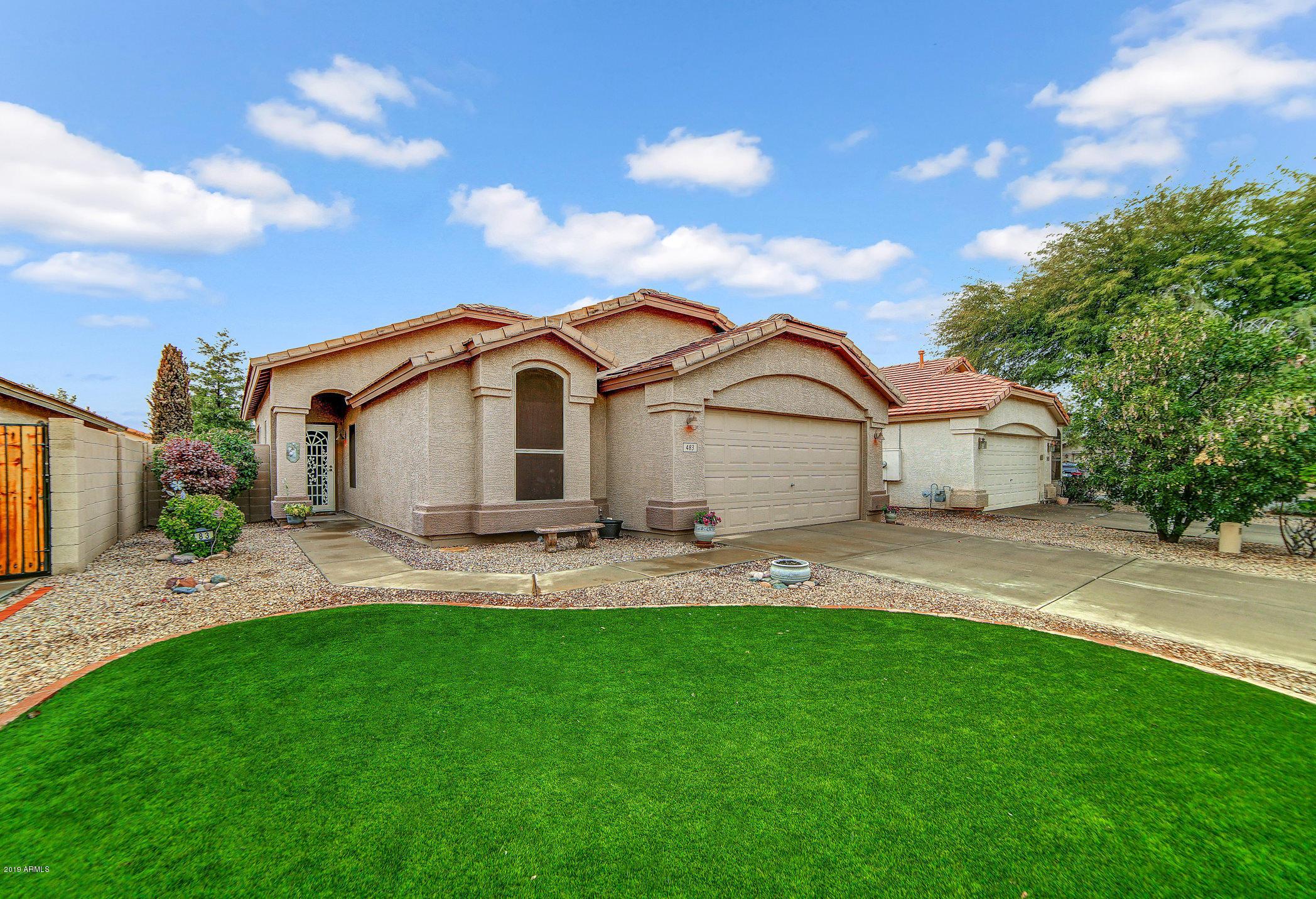 Photo of 483 E DEVON Drive, Gilbert, AZ 85296