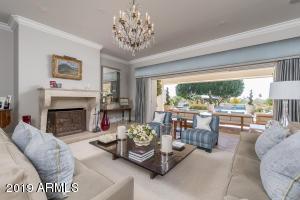 06 Formal Living Room Opens to Resort Ba