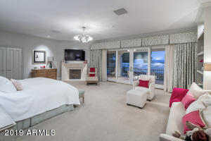 21 a Master Bedroom with Balcony Views