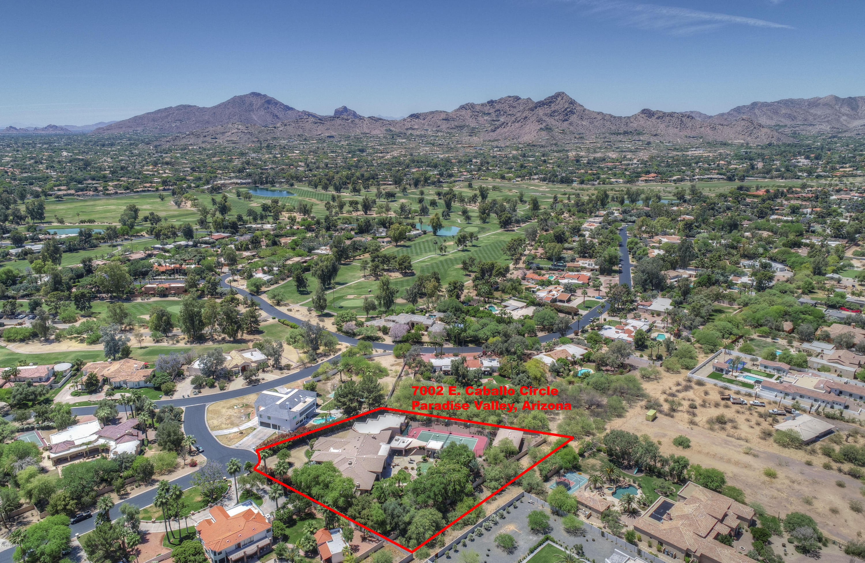 MLS 5867998 7002 E CABALLO Circle, Paradise Valley, AZ 85253 Paradise Valley AZ Golf