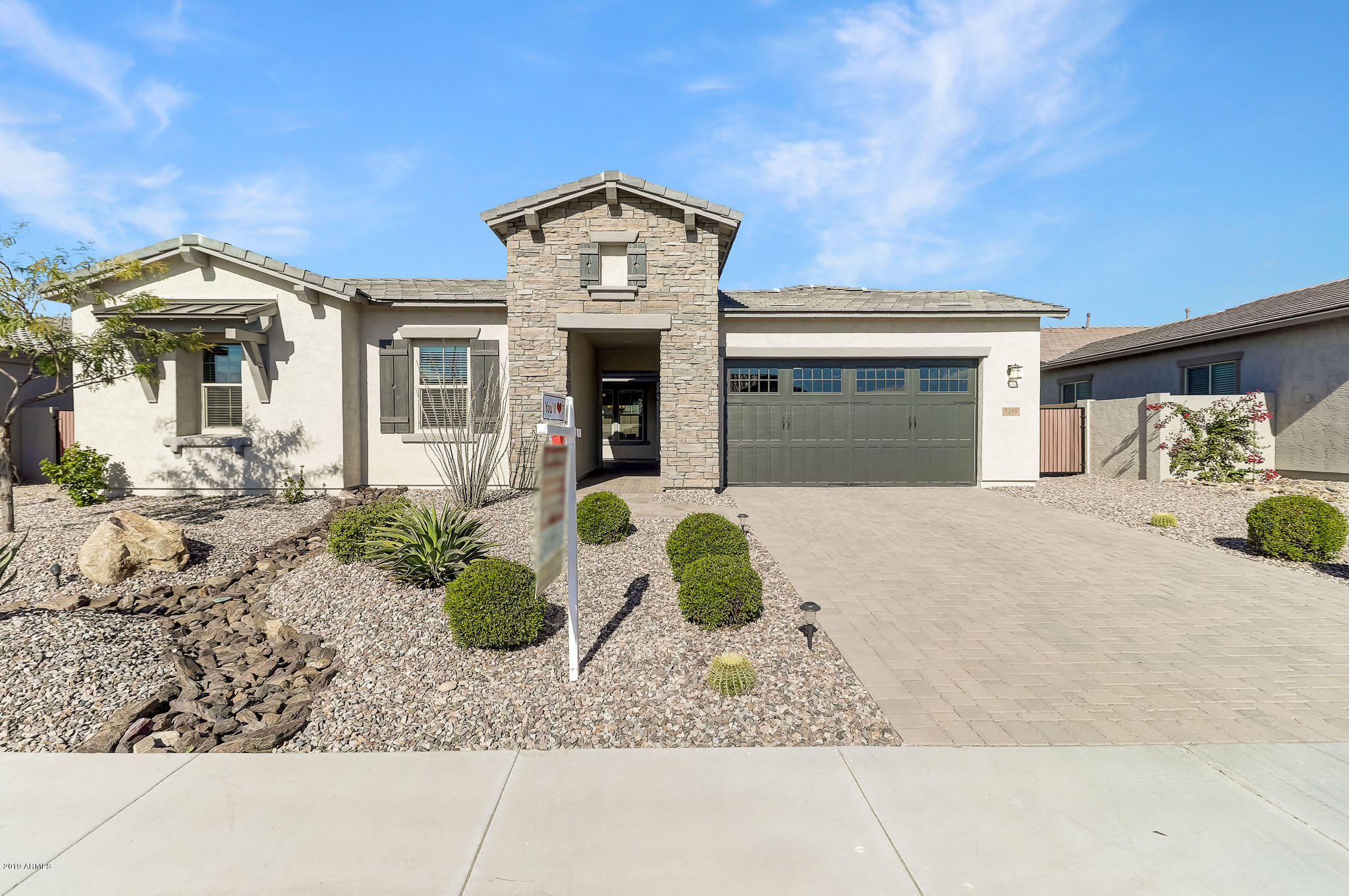 One of Peoria 4 Bedroom Homes for Sale at 9266 W SANDS Drive