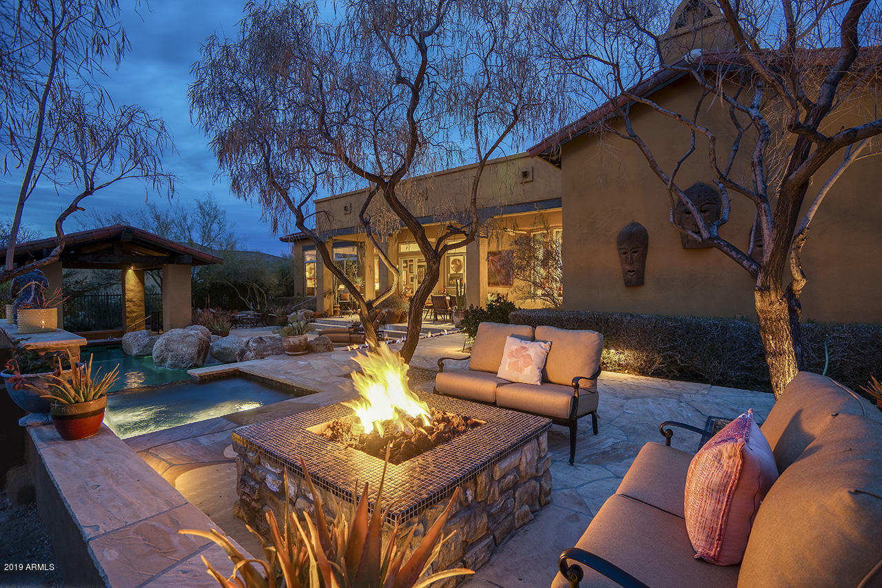 MLS 5869954 10813 E CELESTIAL Drive, Scottsdale, AZ Scottsdale AZ Mirabel Gated