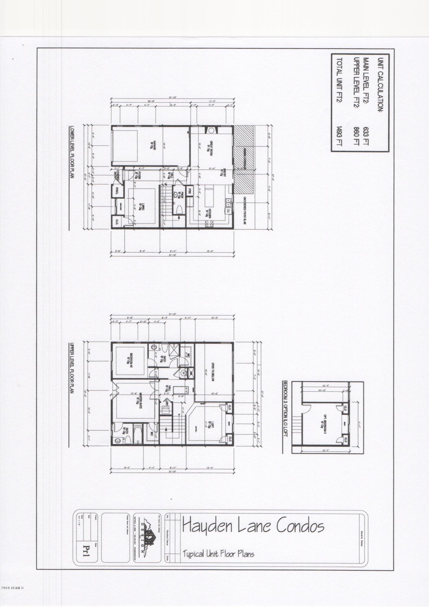 MLS 5870261 1916 E HAYDEN Lane Unit #1, Tempe, AZ 85281 Tempe AZ Newly Built