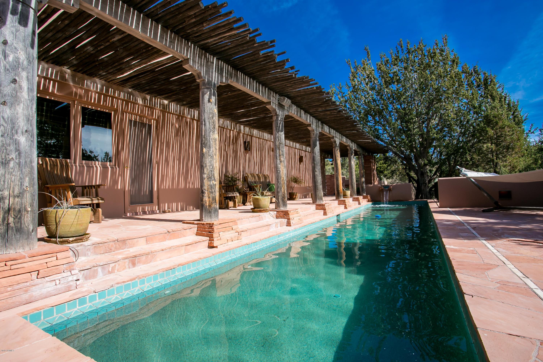 MLS 5873959 140 BEAR MOUNTAIN Road, Sedona, AZ Sedona AZ Private Pool