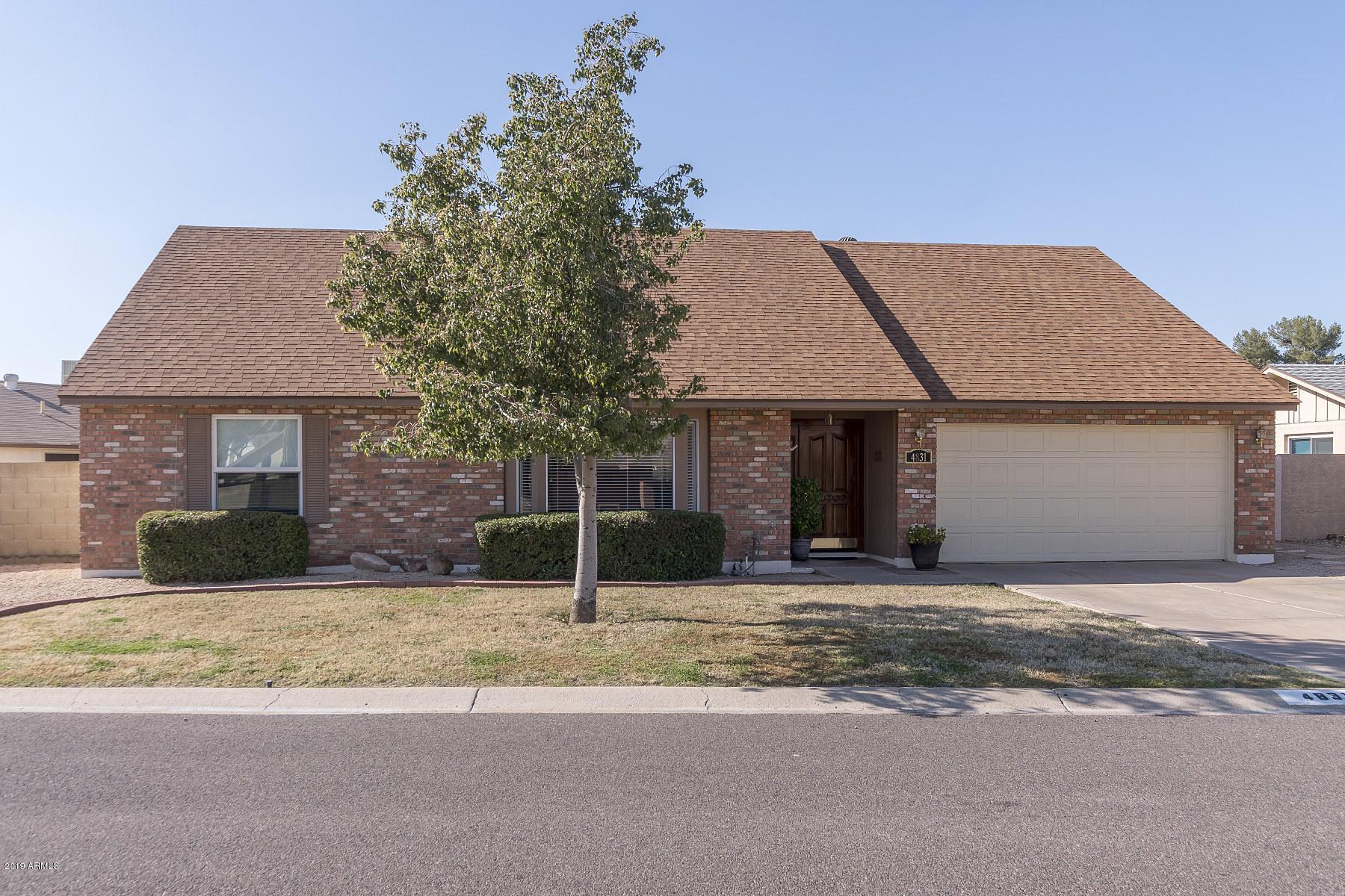 Photo of 4831 W CHRISTINE Circle, Glendale, AZ 85308