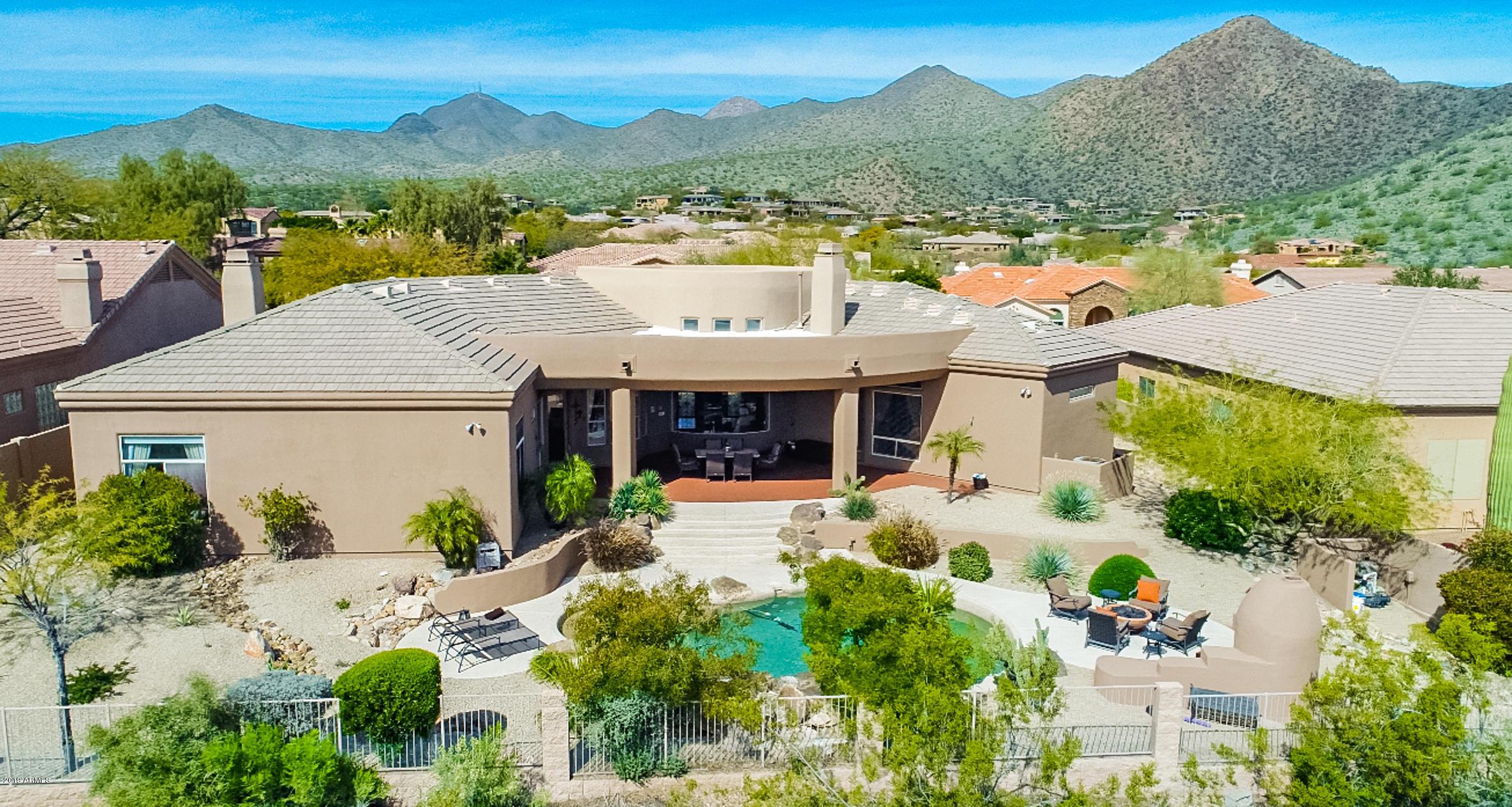 MLS 5892785 12855 E Summit Drive, Scottsdale, AZ 85259 Scottsdale AZ Private Pool