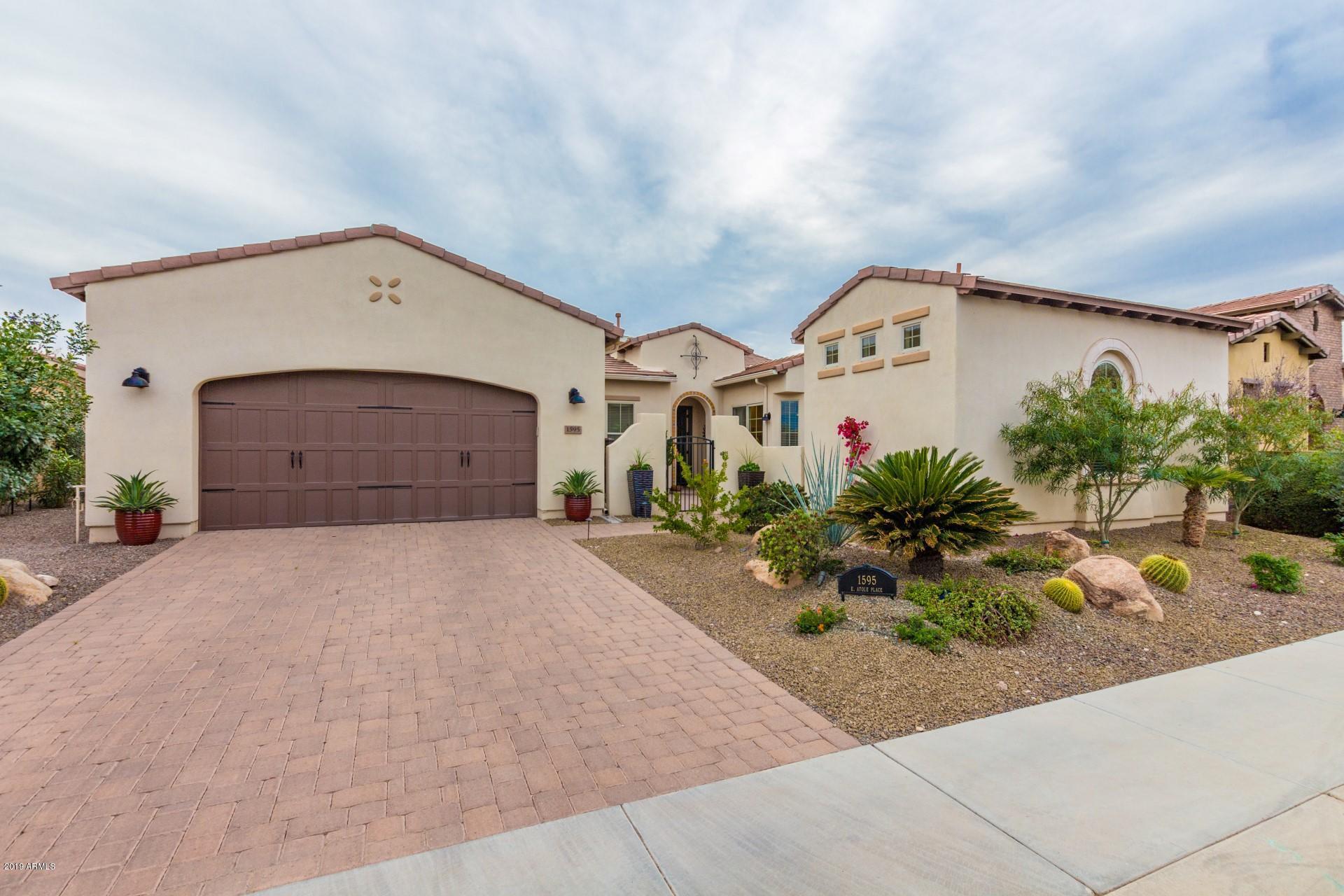 MLS 5893938 1595 E ATOLE Place, San Tan Valley, AZ 85140 San Tan Valley AZ Eco-Friendly
