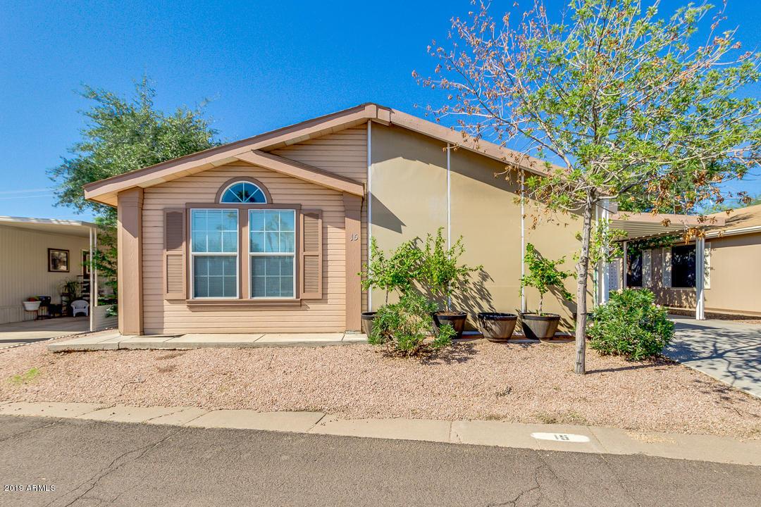Photo of 201 S GREENFIELD Road #LOT 15, Mesa, AZ 85206