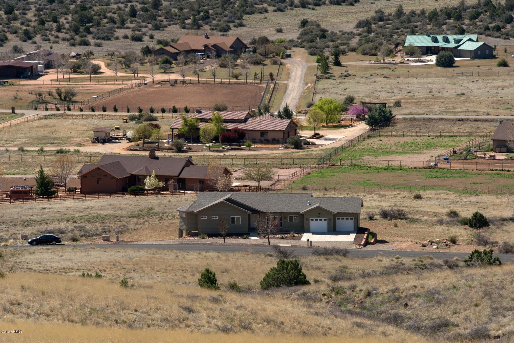 MLS 5895639 3555 W FRIENDLY MEADOW Road, Prescott, AZ Prescott AZ Equestrian