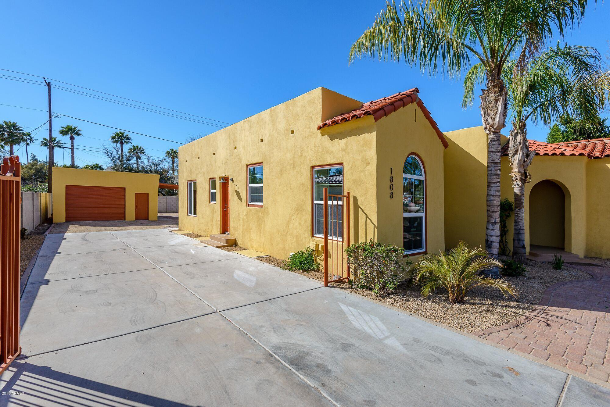 MLS 5896516 1808 N 7TH Avenue, Phoenix, AZ 85007 Phoenix AZ Encanto