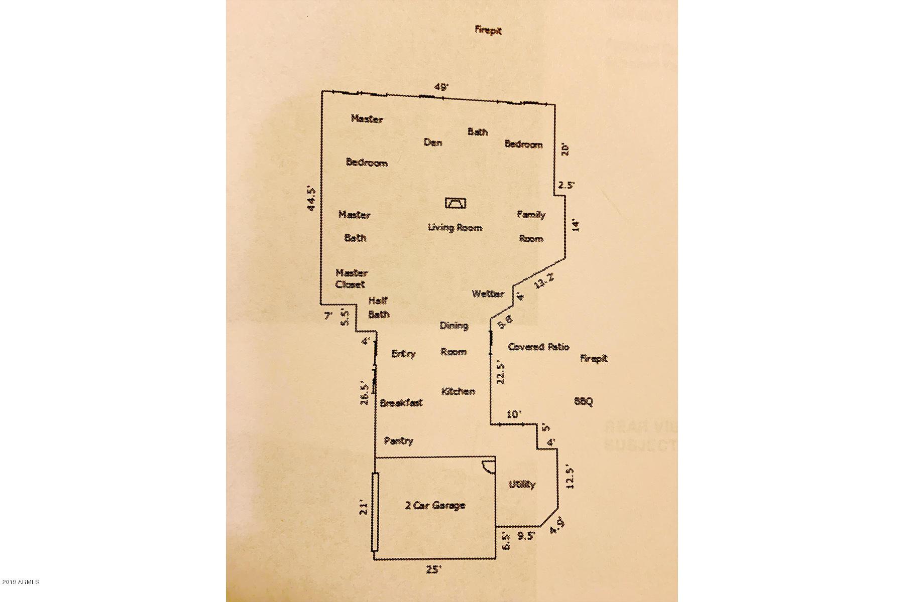 MLS 5896974 5941 N ECHO CANYON Lane, Phoenix, AZ 85018 Phoenix AZ Three Bedroom