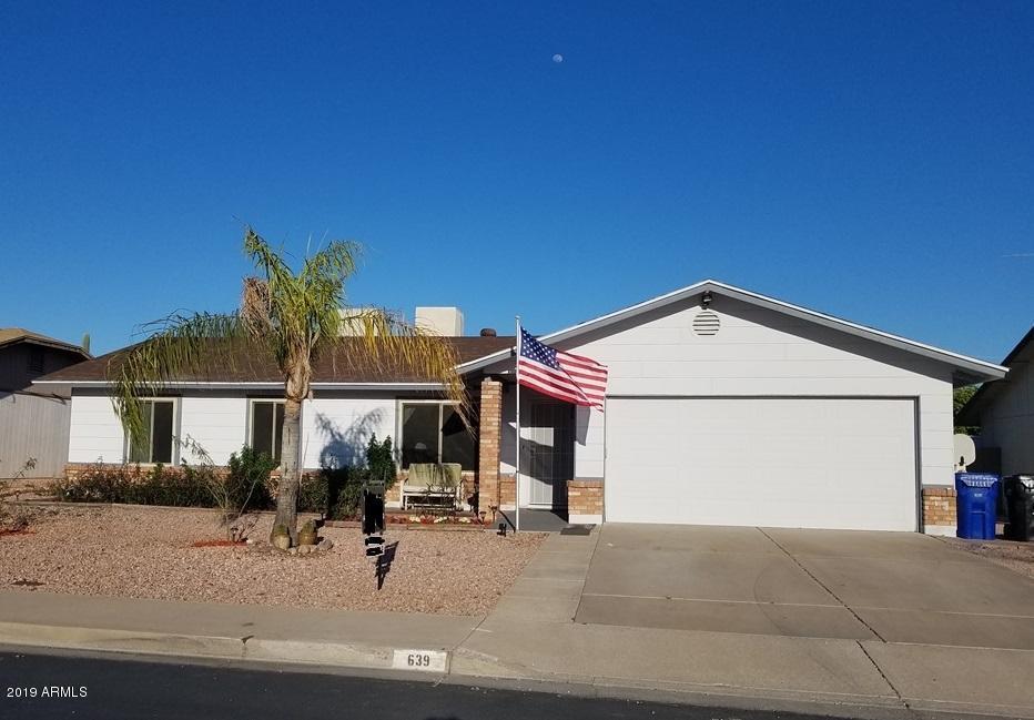Photo of 639 S 35TH Place, Mesa, AZ 85204