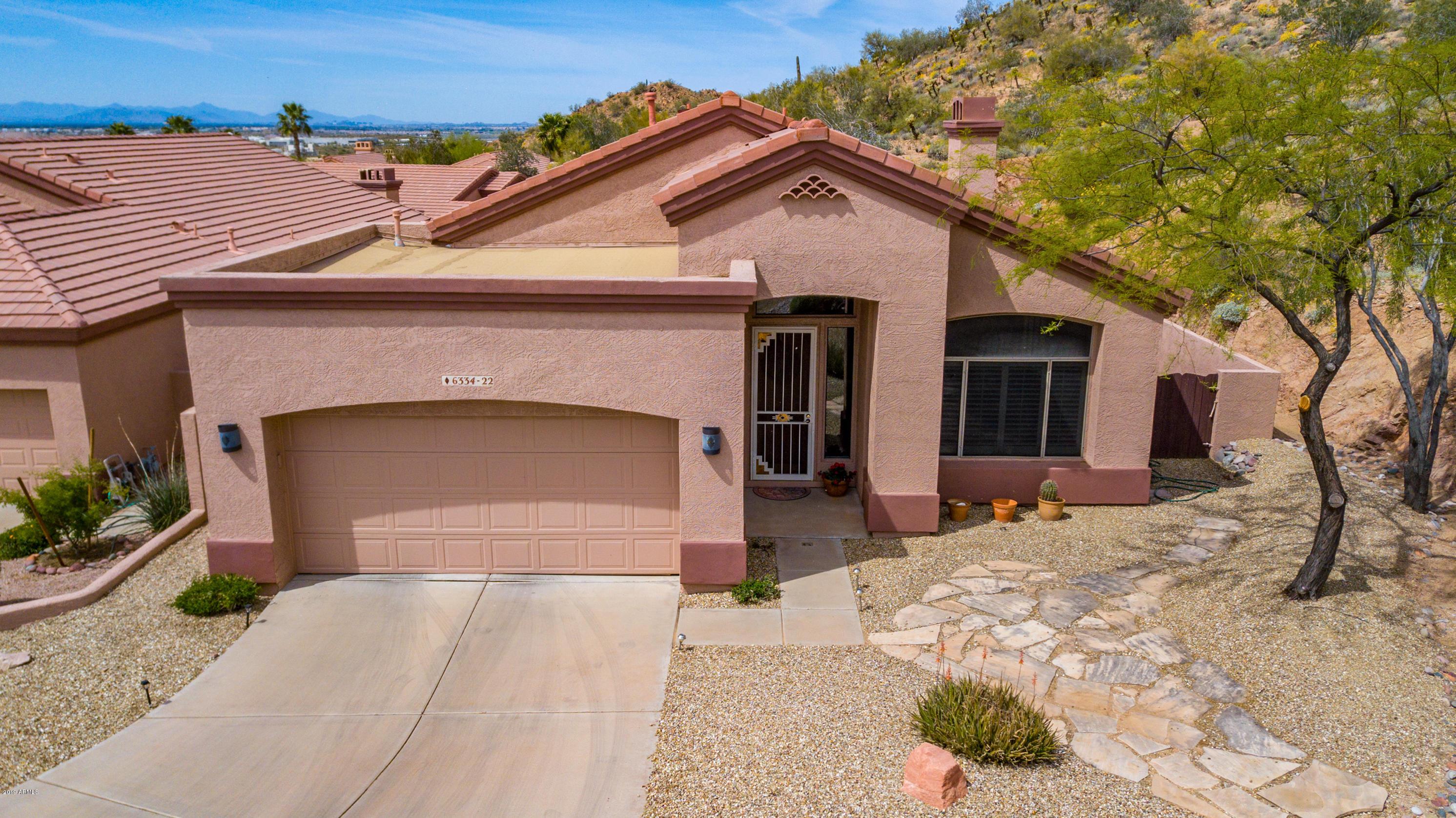 MLS 5906267 6334 E VIEWMONT Drive Unit 22, Mesa, AZ 85215 Mesa AZ Red Mountain Ranch