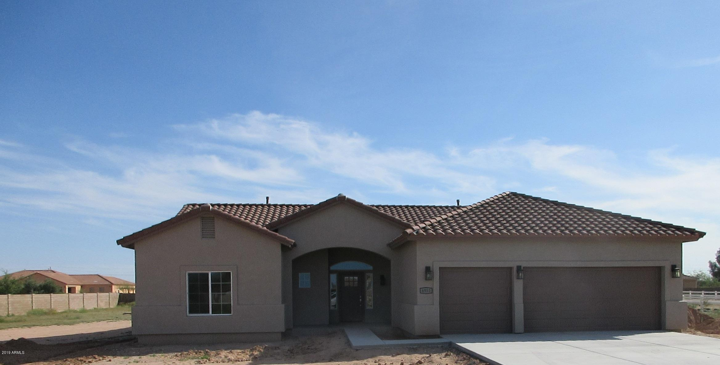 MLS 5911333 6953 W Quarter Horse Run, Coolidge, AZ 85128 Coolidge AZ Three Bedroom
