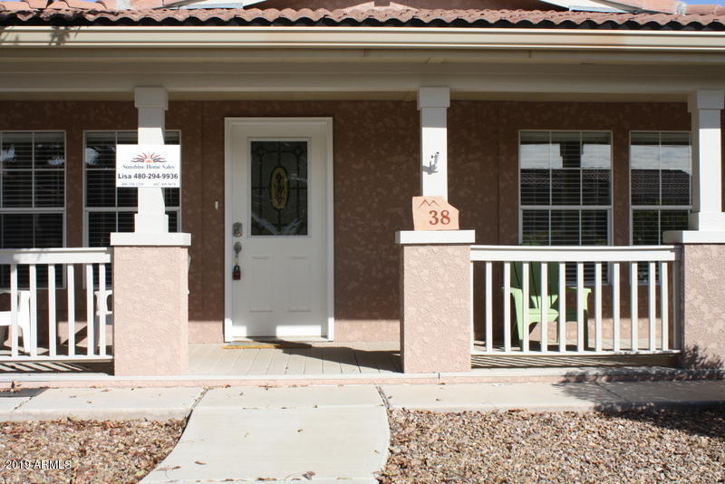 MLS 5913310 7373 E US HIGHWAY 60 -- Unit 38, Gold Canyon, AZ 85118 Gold Canyon AZ Affordable