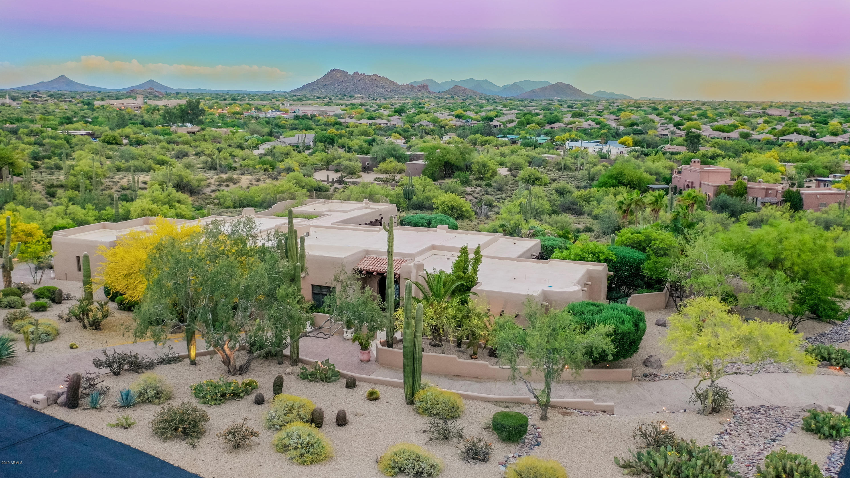 MLS 5919304 6707 E Languid Lane, Carefree, AZ 85377 Carefree AZ Private Spa