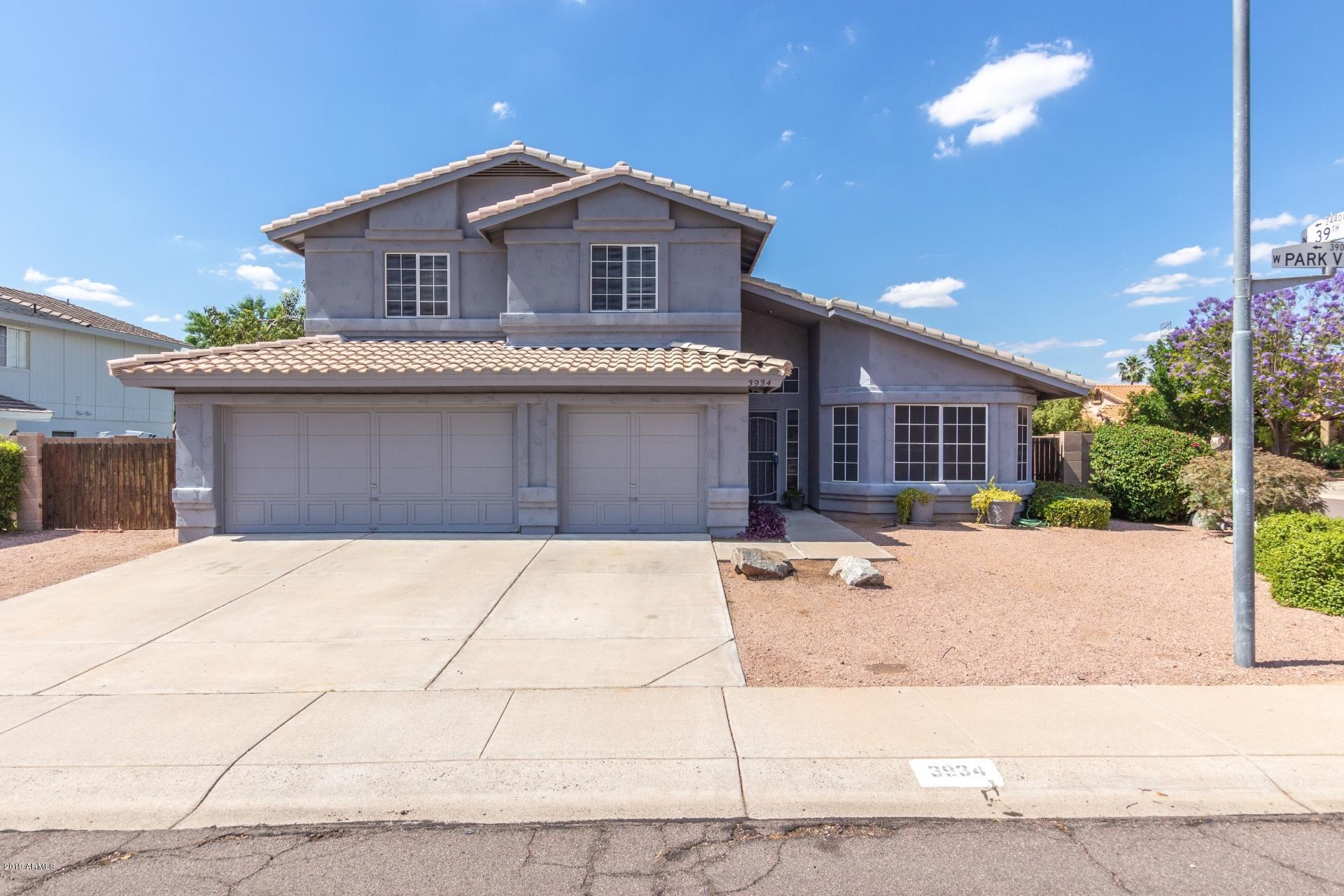 Photo of 3934 W PARK VIEW Lane, Glendale, AZ 85310