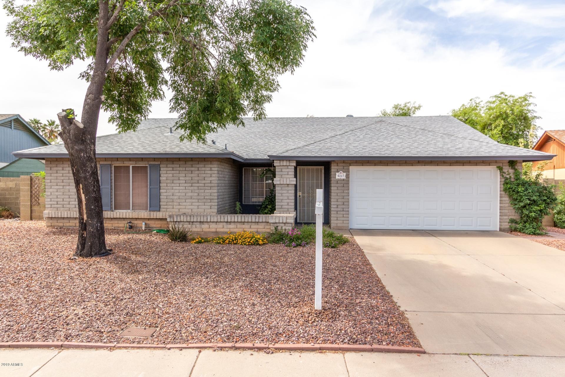 Photo of 6357 W BROWN Street, Glendale, AZ 85302
