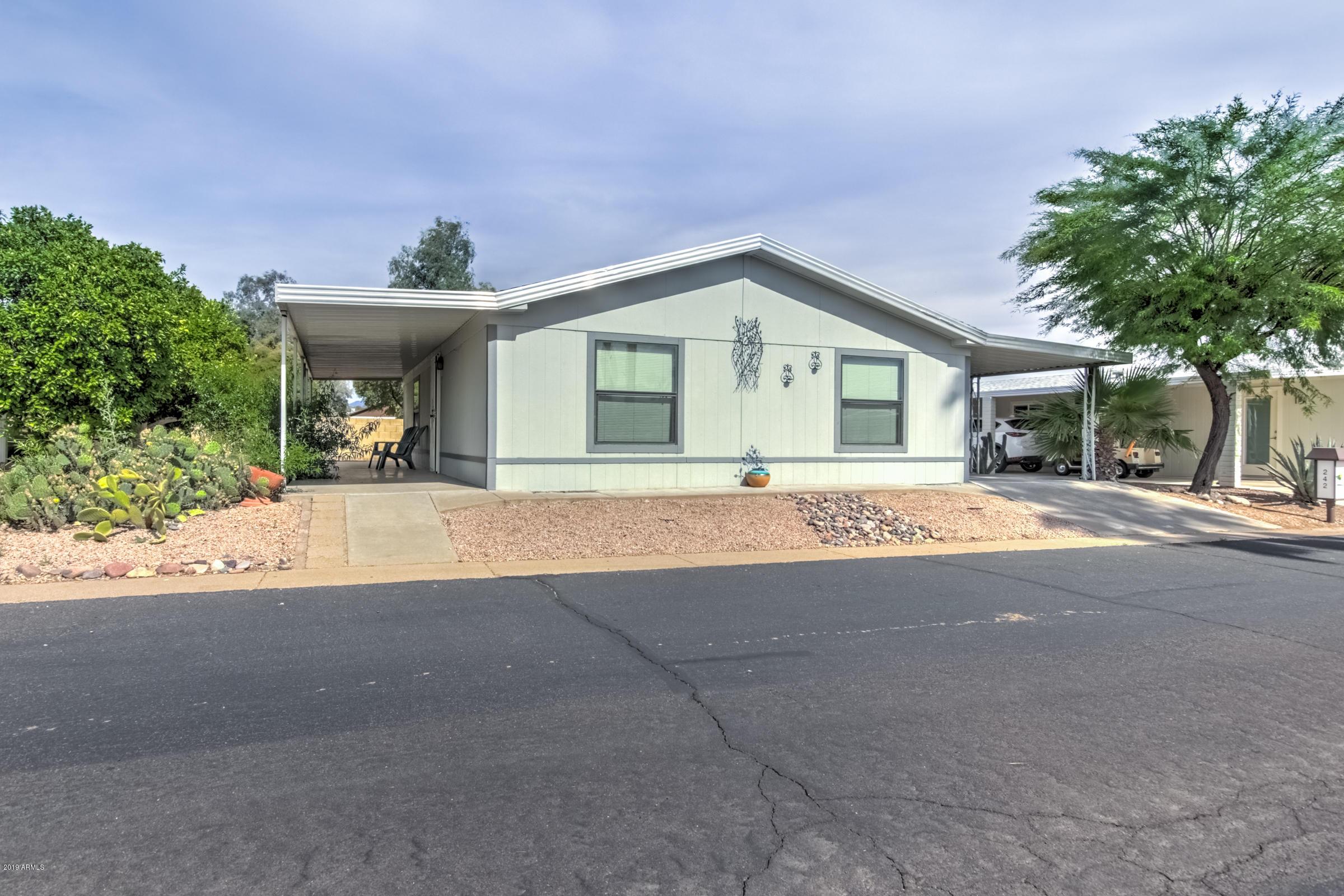 MLS 5922600 6209 E MCKELLIPS Road Unit 242, Mesa, AZ 85215 Mesa AZ Affordable