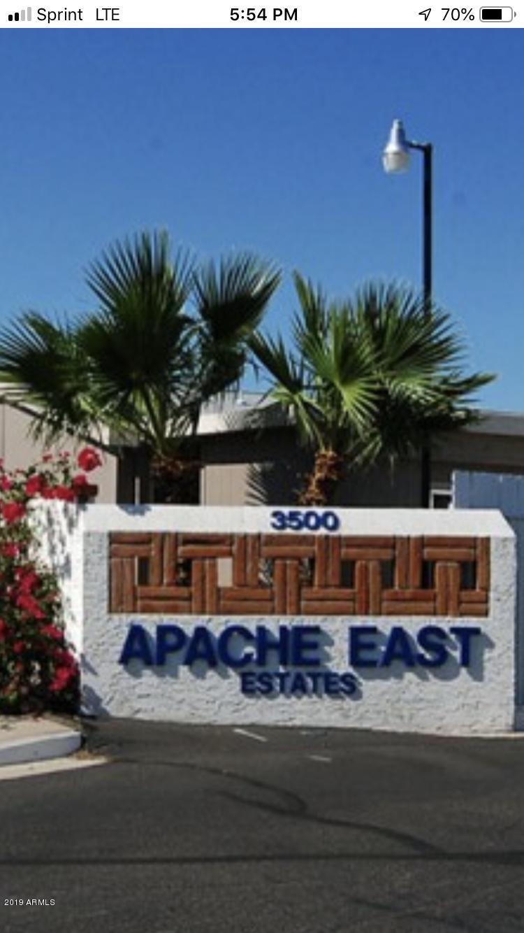 MLS 5923194 3500 S Tomahawk Road Unit 190, Apache Junction, AZ 85119 Apache Junction AZ Affordable