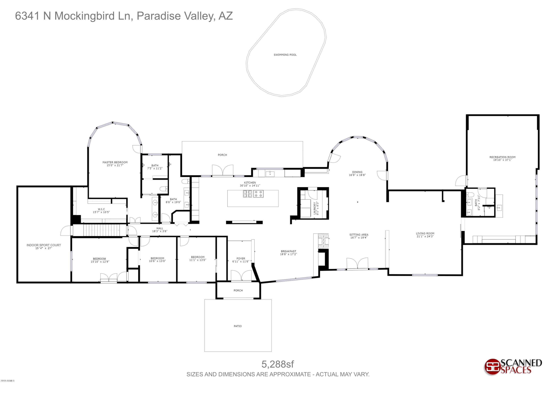 MLS 5910290 6341 N MOCKINGBIRD Lane, Paradise Valley, AZ Paradise Valley AZ Equestrian