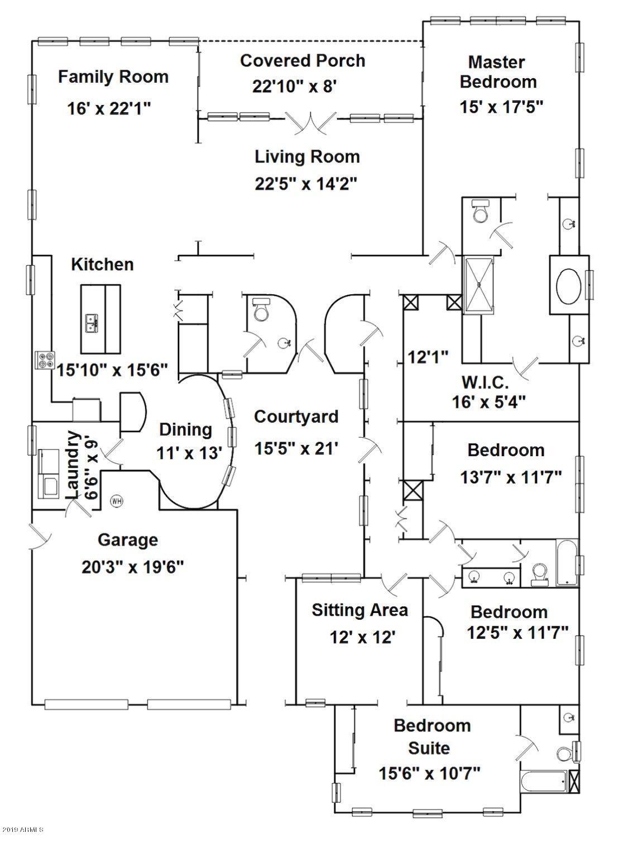 MLS 5940140 3160 E MUIRFIELD Street, Gilbert, AZ Gilbert AZ Country Shadows
