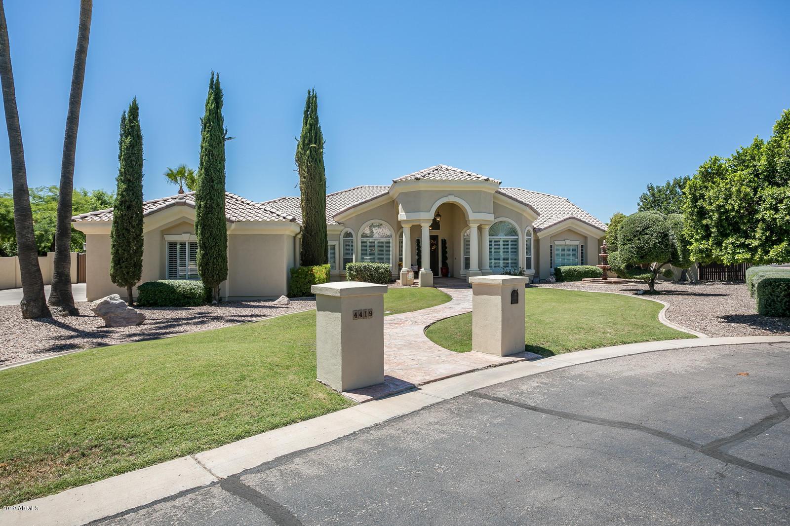 Photo of 4419 E Indigo Bay Drive, Gilbert, AZ 85234